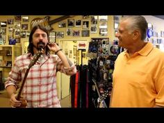 Dave Grohl from the Foo Fighters at Norman's Rare Guitars - Tronnixx in Stock - http://www.amazon.com/dp/B015MQEF2K - http://audio.tronnixx.com/uncategorized/dave-grohl-from-the-foo-fighters-at-normans-rare-guitars/