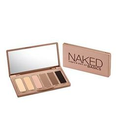 Urban Decay Naked Basics Palette: This palm-sized palette is a pared-down version of its cult classic predecessor.