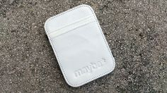 """Maybe """"SNOW WHITE"""" (White) Leather Wallet"""