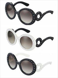 fe2aeab981e Über Fashion Marketing  A coleção desejo da Prada Ornate glasses collection