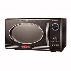Retro Series Microwave Oven at Brookstone—Buy Now!