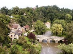 St Ceneri Viewed from the Church Places Worth Visiting, Places To Visit, Region Normandie, Most Beautiful, Beautiful Places, Beaux Villages, Saint, Europe, River