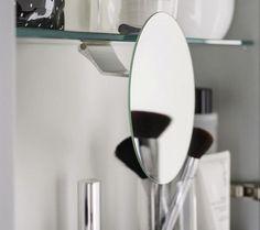 Miroir rond  ·Fixation pour tablette incluse