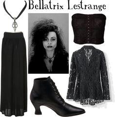 """Bellatrix Lestrange"" by companionclothes ❤ liked on Polyvore"