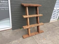 Handmade bookshelf by le bench made from reclaimed timber