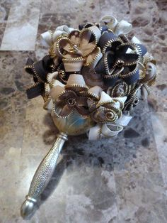 Zipper bouquet!