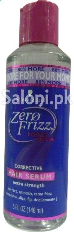 SCHWARZKOPF ZERO FRIZZ CORRECTIVE HAIR SERUM 148 ML Saloni Health