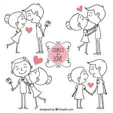 dibujos de parejas abrazandose para dibujar  Buscar con Google