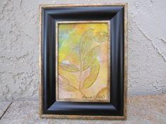 Tree leaf by SoulfulArt on Etsy
