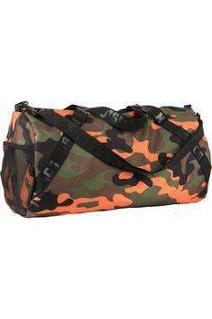 Sport táska, TEREPMINTÁS RUHA, Urban Classics, TB2142 orange camouflage, 9.047 Ft Orange Bag, Workout, Farmer, Camouflage, Gym Bag, Leggings, Urban, Classic, Sports