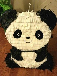 Cute Panda Pinata - now for sale in Etsy.com
