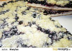Frgál s borůvkami, mám ale hrubší těsto,než by mělo být :-( Czech Recipes, Russian Recipes, Desert Recipes, Ale, Treats, Cooking, Sweet, Food, Ferrero Rocher
