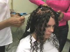 Braiding live:Tanja's Thermofiber Open Braids by Magic Style