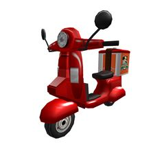 Pizza Delivery Vehicle - ROBLOX