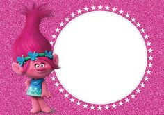 Resultado de imagem para convite trolls Kylie Birthday, Trolls Birthday Party, Troll Party, 3rd Birthday Parties, Girl Birthday, Trolls Poppy, Los Trolls, Birthday Party Invitations Free, Invites