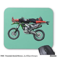 FMX - Freestyle Aerial Motocross Stunt III Mouse Pad