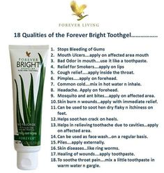 Forever Living has the highest quality aloe vera products and is recognized as the world's leading multi-level marketing opportunity (FBO) for forty years! Aloe Vera Gel Forever, Forever Living Aloe Vera, Forever Bright Toothgel, Aloe Berry Nectar, Forever Living Business, How To Prevent Cavities, Forever Life, Forever Living Products, Oral Hygiene