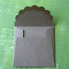 Tutorial on making your own cute envelopes