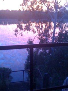 Sunset on the Brisbane rIver, Chelmer