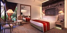 Accommodation in Singapore | Deluxe Poolside Room