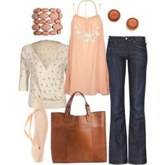 Love this peach color for the spring