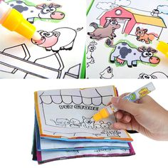 Kids Magic Water Drawing Book With Pen
