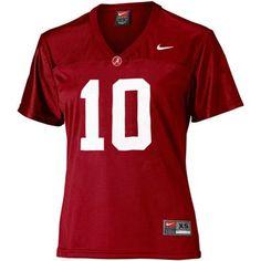 Nike Alabama Crimson Tide #10 Women's Replica Football Jersey - Crimson #UltimateTailgate #Fanatics