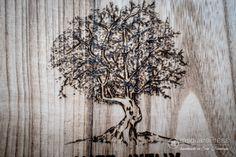 Rustic Tree on wood