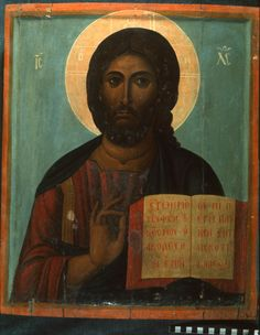 edu sinai files original 6488 Byzantine Art, Byzantine Icons, Religious Icons, Religious Art, Christ Pantocrator, Roman Church, Best Icons, Jesus Pictures, Icon Collection