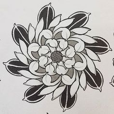 This Saturday It's Kilburntattoo's Birthday, I'll Have This Chrysanthemum That I'll Be Doing At A Better Price Than Usual. Dark And Gray Or Color. First Come, First Served, Starting At Come Celebrate With Us Japanese Flower Tattoo, Japanese Tattoo Symbols, Japanese Flowers, Kunst Tattoos, Tattoo Drawings, Traditional Tattoo Flowers, London Tattoo, Oriental Tattoo, Classic Tattoo