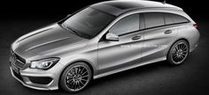 "#Mercedes #CLA als ""Shooting Brake"""