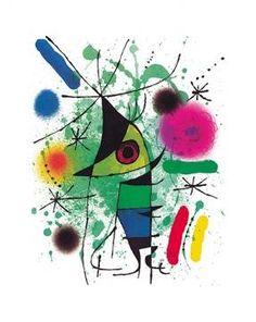 Joan Miró - Der singende Fisch - jetzt bestellen auf kunst-fuer-alle.de