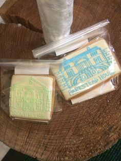 Parkstead and Grove bespoke hour Biscuits | Biscuiteers