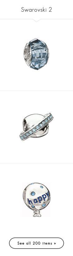 """Swarovski 2"" by c-mcmahon05 ❤ liked on Polyvore featuring jewelry, swarovski jewelry, swarovski jewellery, beaded jewelry, rose jewellery, blue jewelry, beads jewellery, pave jewelry, cosmic jewelry and pendants"
