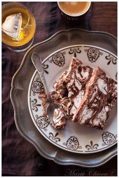 """Crème glacée marbrée façon """"Irish Coffee"""" (Vegan, IG Bas, Sans Gluten, Sans Lait, Sans Oeufs... et Sans Sorbetière ! ;))"""