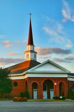 First Baptist Church in Newport News, VA by Ola Allen