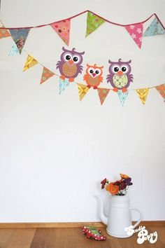 #owl #wallpaper #kidsroom #nursery