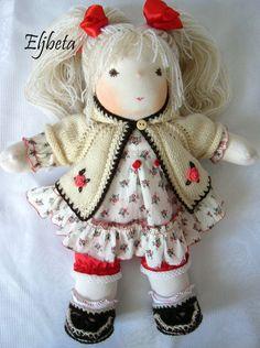 Waldorf doll Valentine by Eljbeta on Etsy, $270.00