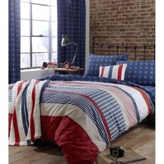 Buy Catherine Lansfield Home Kids Stars And Stripes Single Bed Quiltset Multi from our Duvet Covers range - Tesco.com