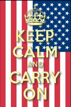 Keep Calm..Be Patriotic!