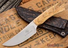 KnivesShipFree - Arno Bernard Knives: Grazer Series - Springbok - Mammoth Ivory - 121908, $595.00 (https://www.knivesshipfree.com/arno-bernard-knives-grazer-springbok-mammoth-ivory-121908/)