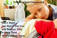 Visit us to learn more about our steam presses and how you can reduce your ironing time up to 70%.