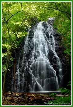 Crabtree Falls in Boone, NC.  Can't wait to see it in person