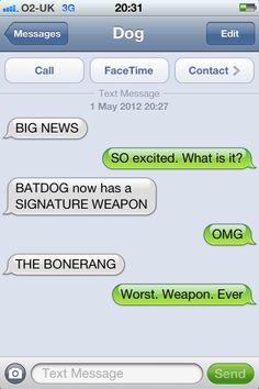 Community Post: 15 Best Texts From Dog - Funny Troll & Memes 2019 Funny Dog Texts, Funny Jokes, 9gag Funny, Memes Humor, Humor Texts, Fun Meme, Hilarious Texts, Funny Troll, Man Humor