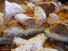 Linecký koláč Czech Recipes, Something Sweet, Desert Recipes, Apple Pie, Christmas Cookies, Doughnut, Mexican Food Recipes, Ham, French Toast