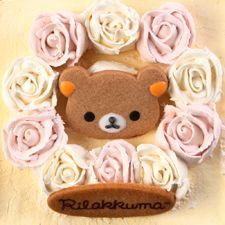 【リラックマストア限定商品】リラックマローズケーキ