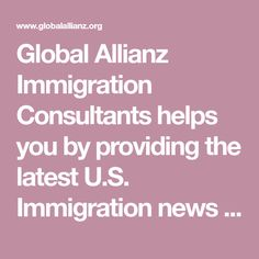 Global Allianz Immigration Consultants helps you by providing the latest U.S. Immigration news and application procedures so you can submit your own application without the assistance of an immigration lawyer. We are the only Indian based Immigration Consultant, who has been licensed by Secretary of State California, U.S.A. to act as Bonded Immigration Consultants. We have a fully operational office in Stockton, California and at Patiala, Punjab, India. We can be contacted 24 x 7 in USA at…