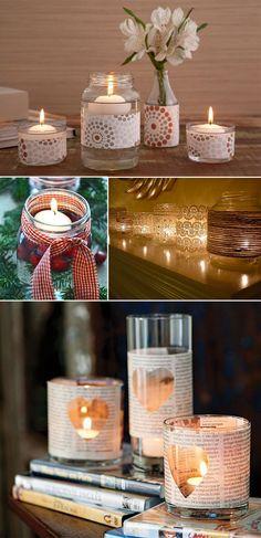 Dicas de onde encontrar velas perfumadas. Elas dão um toque todo especial na decoração e trazem um ar de romantismo e aconchego ao ambiente.