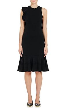 We Adore: The Compact Knit Ruffle A-Line Dress from Proenza Schouler at Barneys New York