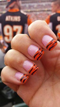 Cincinnati Bengals nails! !
